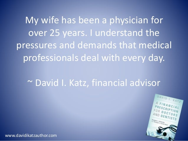 financial planning for doctors pdf