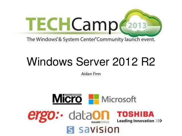 Windows Server 2012 R2 Aidan Finn