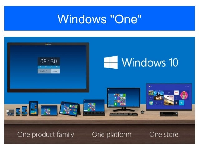 A first look at latest windows version - Windows 10