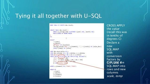 Hands-On with U-SQL and Azure Data Lake Analytics (ADLA)
