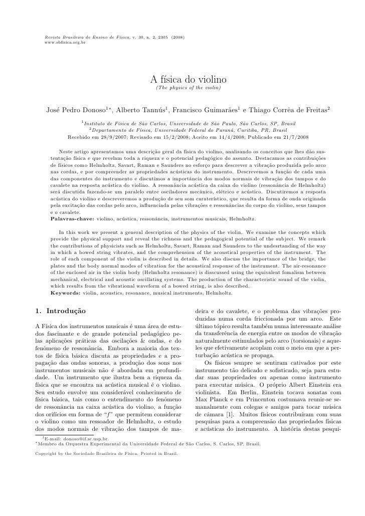 Revista Brasileira de Ensino de F´                                      ısica, v. 30, n. 2, 2305 (2008)     www.sbfisica.or...