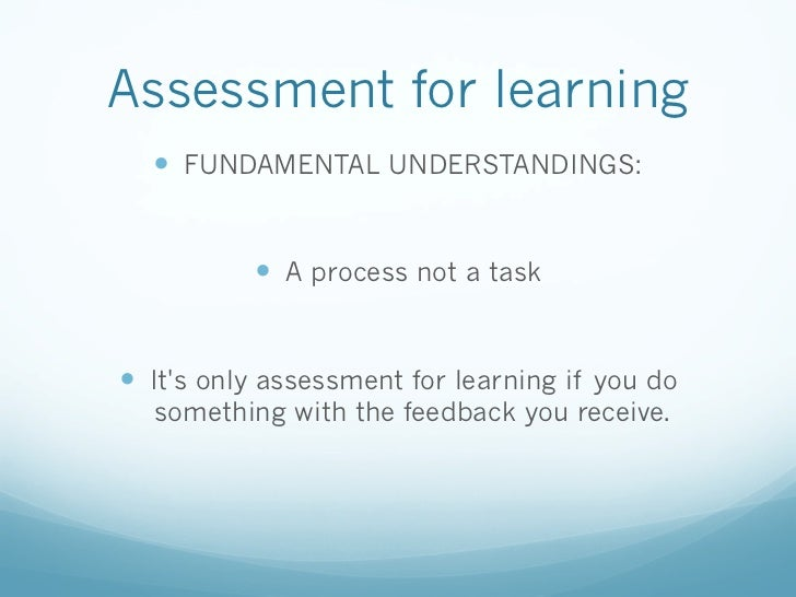 """afl assessment for learning With the article """"inside the black box,"""" originally published in 1998, an  educational practice known as assessment for learning (afl) has."""