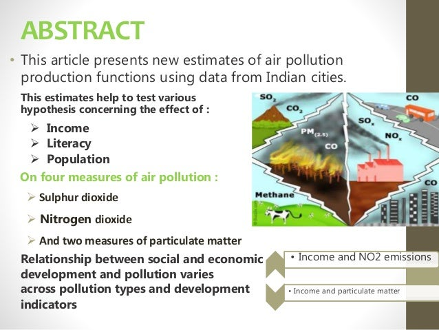 outline effect of pollution in the cities View notes - water pollution speech outline from comm 110 at malone university waterpollution i waterpollutionisdirectlyaffectingnature a oilspillsareoneoftheleadingcausesofwaterpollution ai.