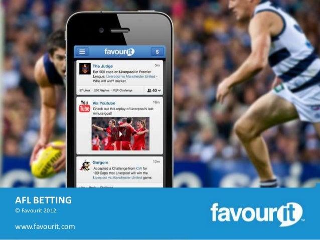 AFL BETTING© Favourit 2012.www.favourit.com