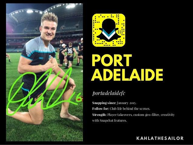 Adelaide snapchat