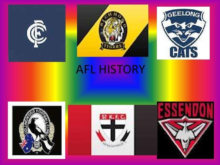 AFL HISTORY