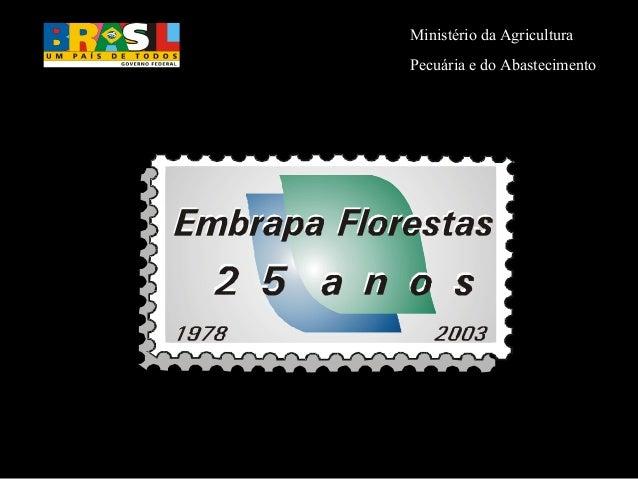 Ministério da AgriculturaPecuária e do Abastecimento