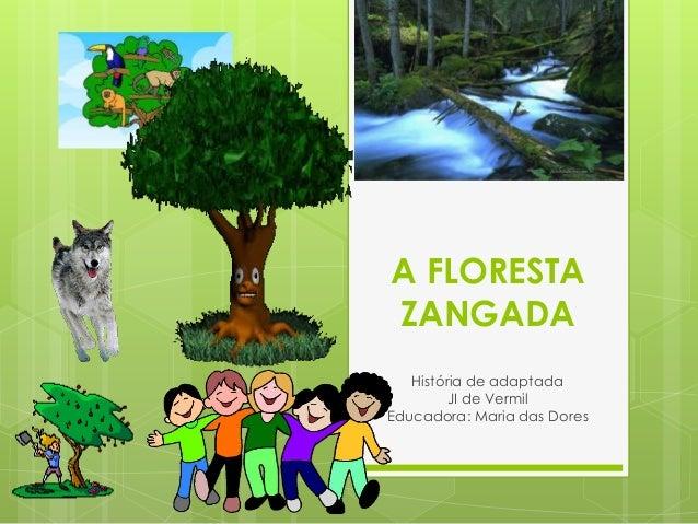 A FLORESTA ZANGADA História de adaptada JI de Vermil Educadora: Maria das Dores
