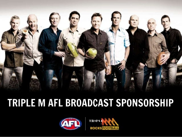 """Source: Southern Cross Austereo AFL Study. September 2013. 2MMM. 3MMM. 4MMM. 5MMM. """"Did you listen to any AFL broadcasts o..."""