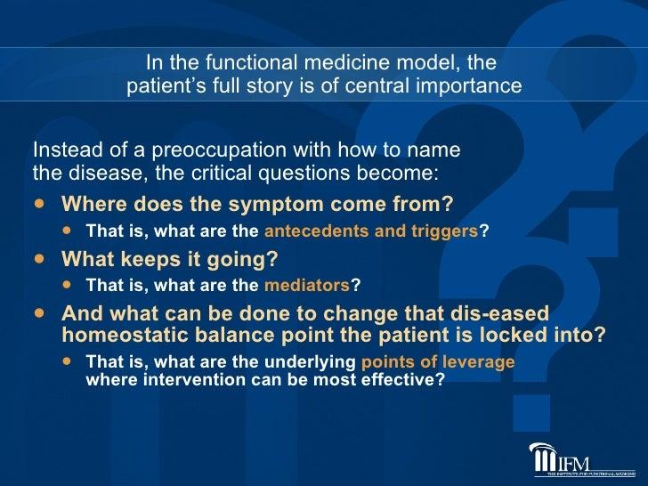 <ul><li>Where does the symptom come from?  </li></ul><ul><ul><li>That is, what are the  antecedents and triggers ? </li></...