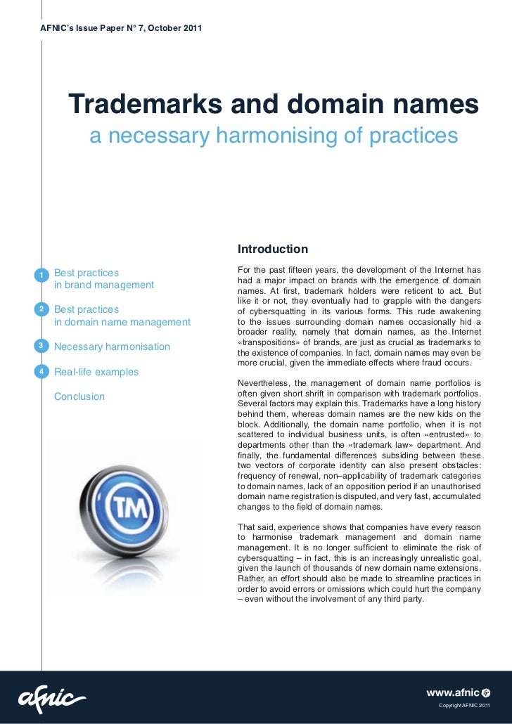 essay on trademarks Free essay: intellectual property (ip) rights are legally recognized rights to developments of the owner under the intellectual property law, owners are.