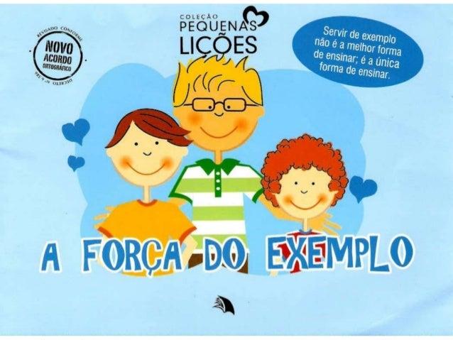 Dia dos Pais A força do exemplo