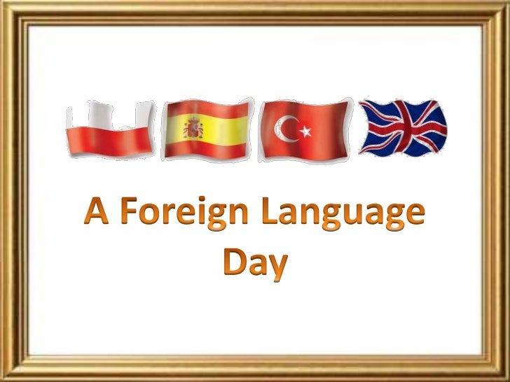 A foreign language day