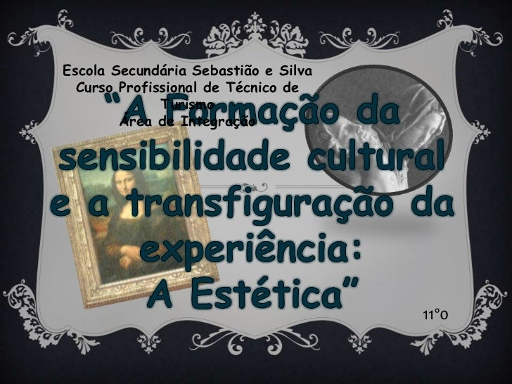 """Escola Secundária Sebastião e Silva<br />Curso Profissional de Técnico de Turismo<br />Área de Integração<br />""""A Formação..."""