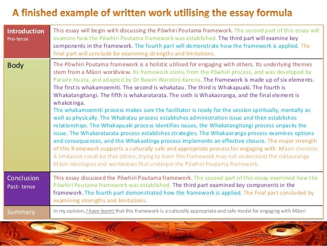 a formula for structuring and layering an essay  essay 10