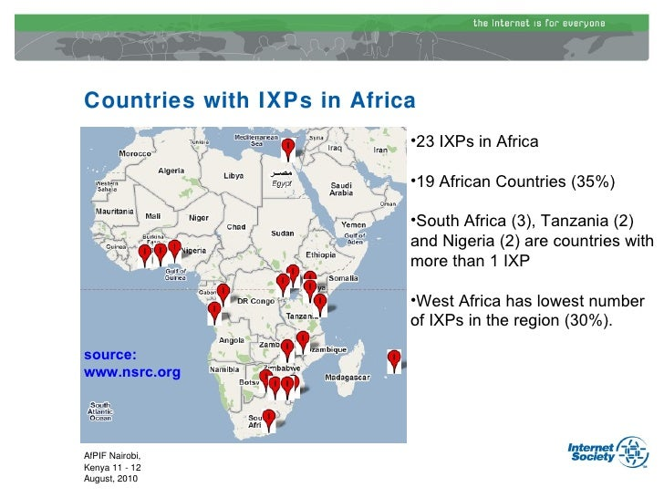 African Internet Exchange Points