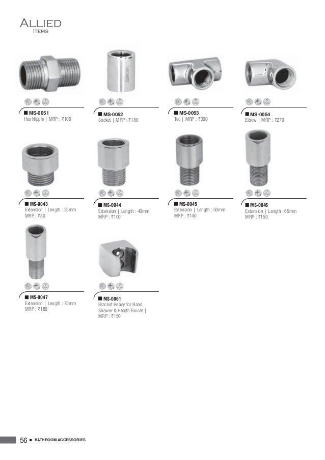 58. AGMECO Bath Fittings Catalog Cum Price List 2016