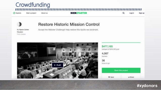 Crowdfunding #xydonors