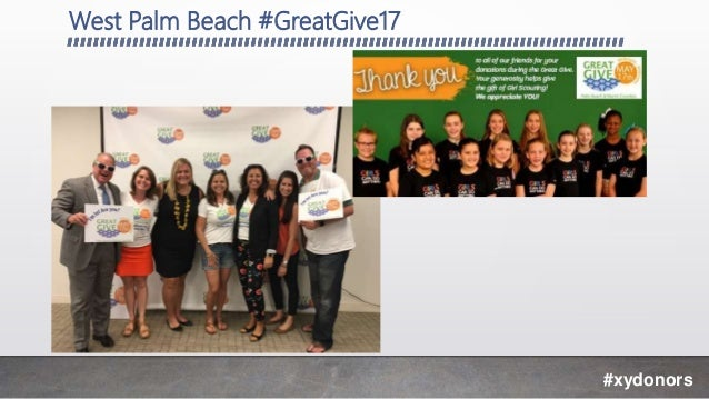 West Palm Beach #GreatGive17 #xydonors