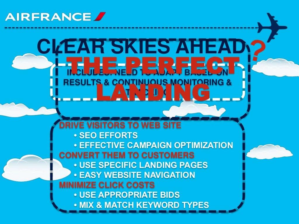 Air france internet marketing case assignment