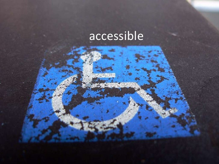 accessible<br />