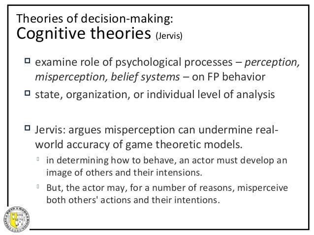 "robert jervis perception and level Jervis, robert (1976) ""perceptions and the level-of-analysis problem,"" ch 1, in perception and misperception in international politics, princeton university press ."