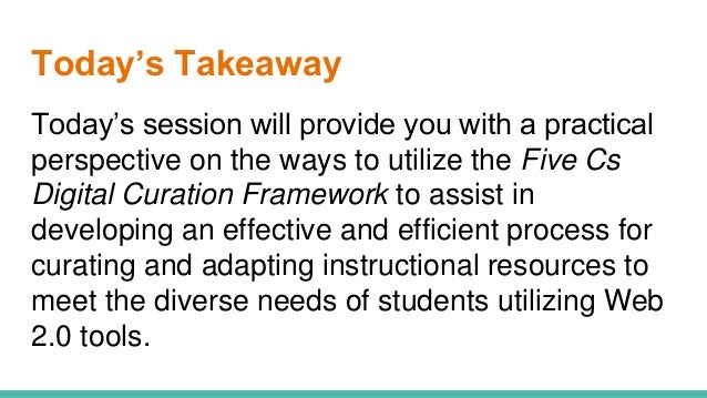 A Framework For Differentiated Instruction