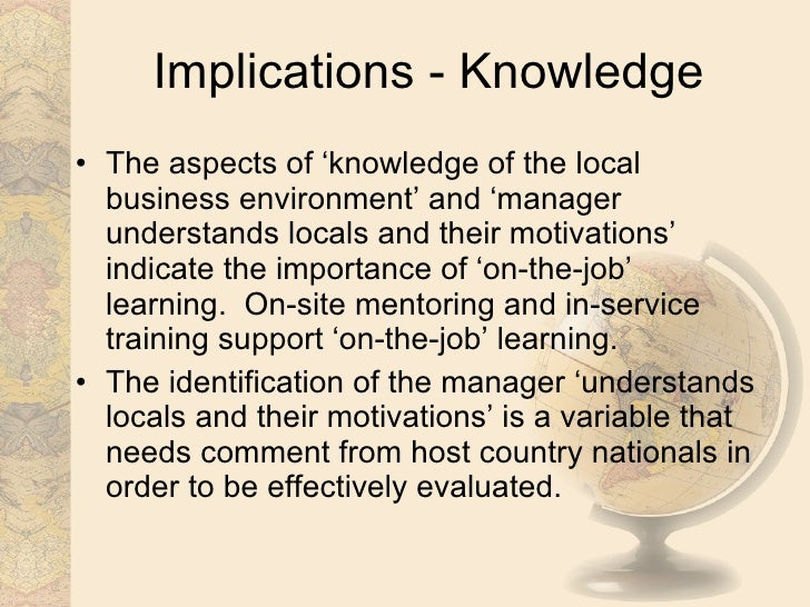 cross cultural issues in performance management Managing a cross cultural workforce is to find ways abstract keywords: cross cultural work place uae, hrm management uae, human resources management of and performance yousef (1998) noted that there were differences between cultures with regard to organizational commitment and job performance this is.