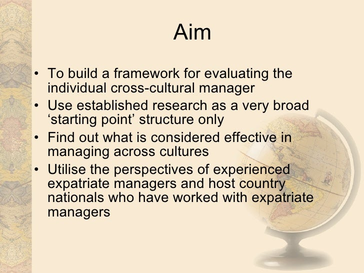 definition of cross cultural management