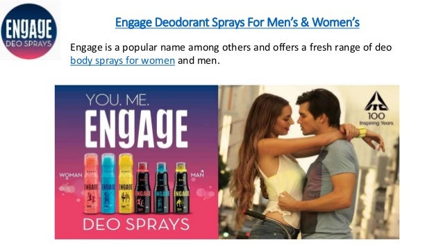 Engage Deodorant Sprays For Men's & Women's Engage is a popular name among others and offers a fresh range of deo body spr...