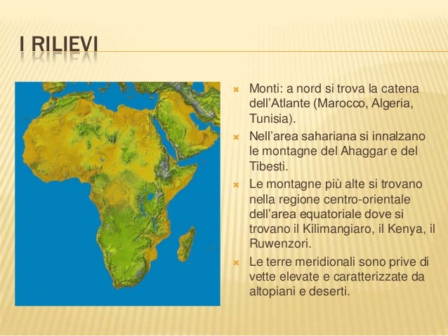 Cartina Dell Africa Fisica E Politica.Africa