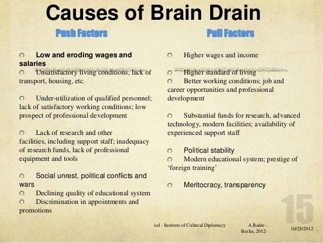 Brain drain essay