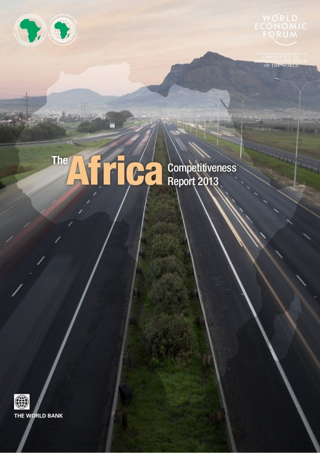 The AfricaCompetitiveness Report 2013