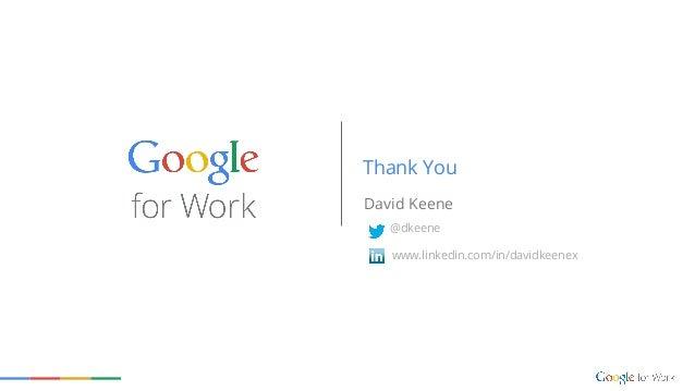 David Keene Thank You www.linkedin.com/in/davidkeenex @dkeene