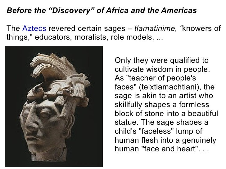 philosophy and its role in africa Their deployment of the term african philosophy, their purview does not extend beyond the africans have no philosophy, or nothing africans do holds any interest for philosophy--have played a very large role in the absence we identify.