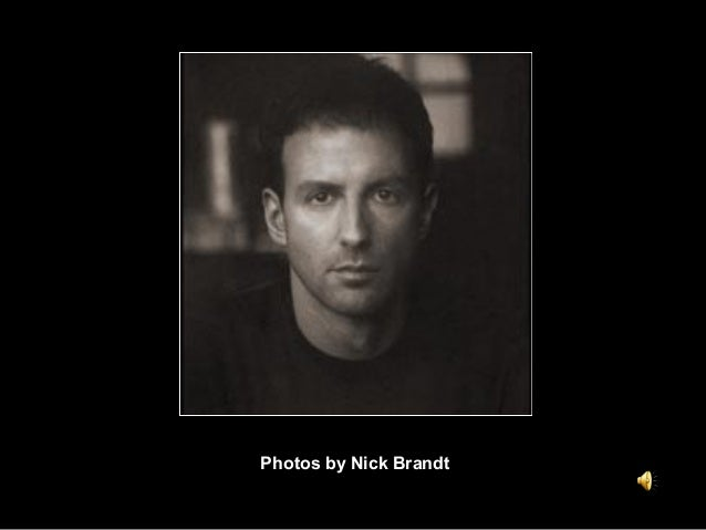 Photos by Nick Brandt