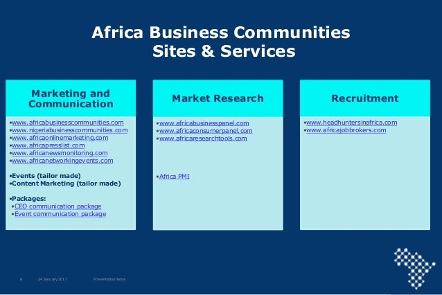 Africa Business Communities what can we do for you?
