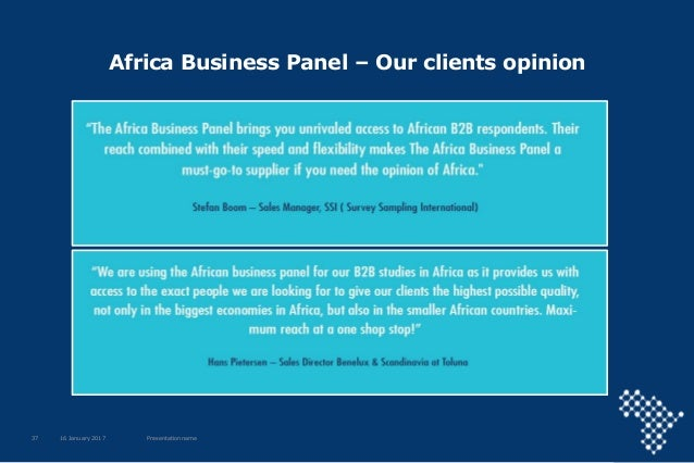 Africa Business Communities Company Presentation