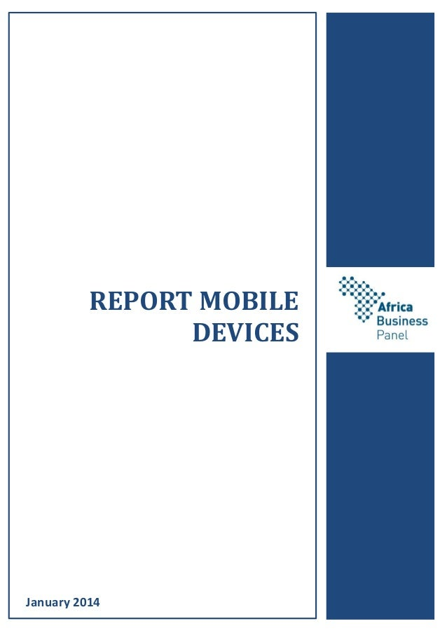 REPORT MOBILE DEVICES January 2014
