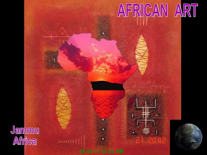 AFRICAN  ART 05.08.11   12:23 AM Jammu Africa