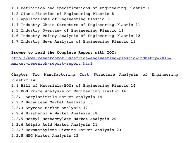 analysis of the engineering industry Deltekcom 5 about the deltek clarity architecture and engineering industry study firm type we use the term architecture & engineering (a&e) to refer to.