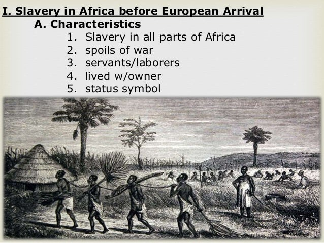 an analysis of the description of african slave trade News & analysis recalling africa's harrowing tale of its first slavers – the arabs  – as uk slave trade abolition is commemorated.