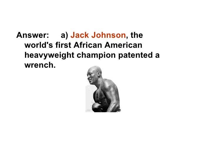 African American Inventors Quiz