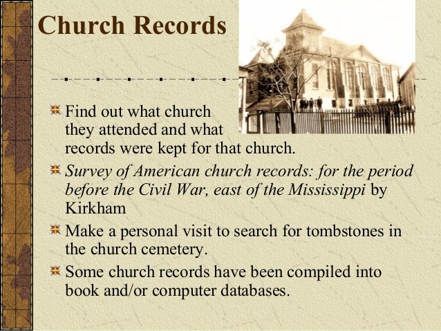 Church history research paper topics