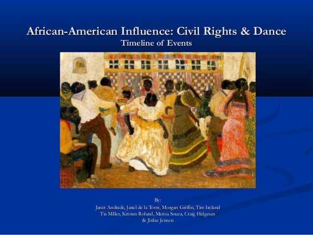 African-American Influence: Civil Rights & DanceAfrican-American Influence: Civil Rights & Dance Timeline of EventsTimelin...