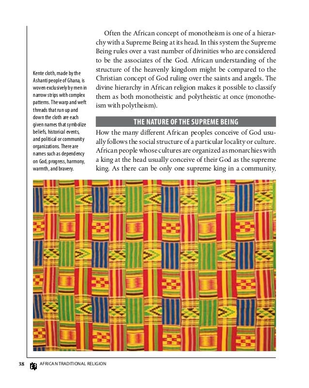 "african traditional religions Why do we study (african) religions religion 20  my favourite piece is by rosalind shaw: ""the invention of african traditional religion"",."