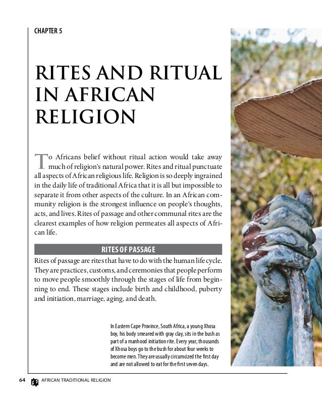 the relationship between african religion and culture