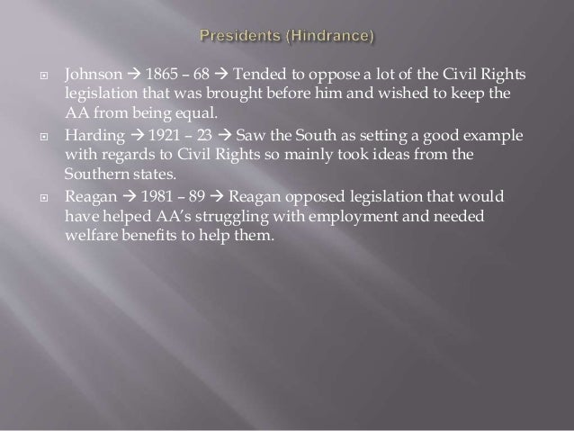 Treatment of african americans 1865 1895