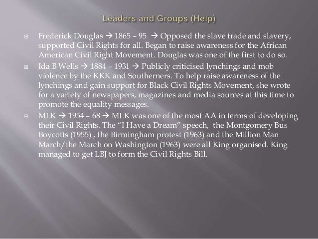 Civil Rights Essay