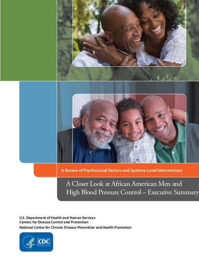 A Review of Psychosocial Factors and Systems-Level Interventions  A Closer Look at African American Men and High Blood Pre...